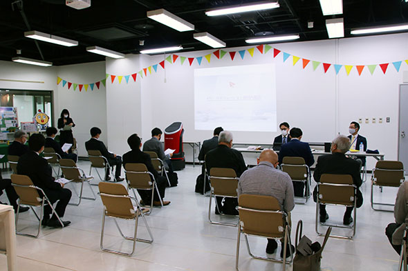 ATC先端技術開発支援フロア内覧会