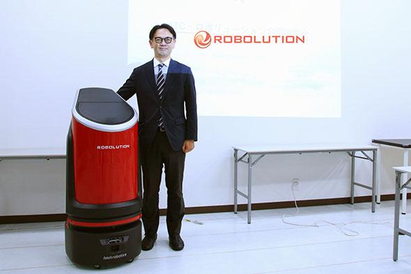 【代表者インタビュー】ヒト・モノ・情報の移動ソリューション実用化プロジェクト「ROBOLUTION」
