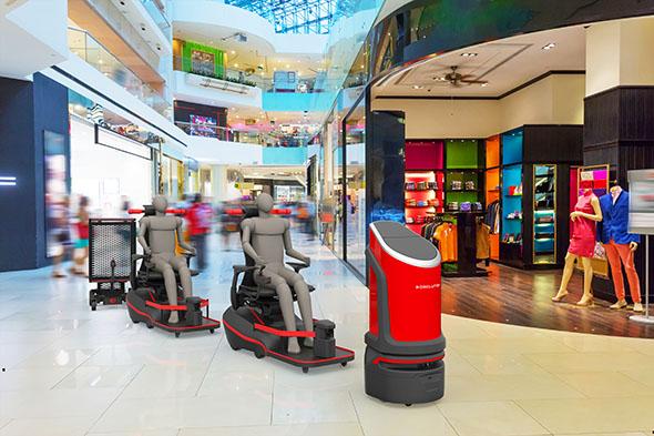 ロボリューション_ショッピングセンター